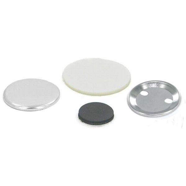 "1-3/4"" Round Magnet Button Complete Set"