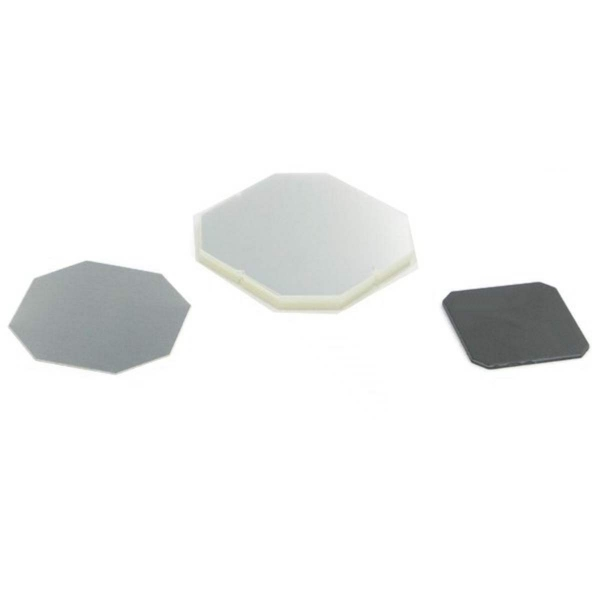 "1"" Square Flat Back Button Complete Set"